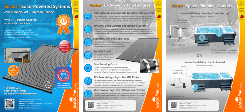 Vertex system flyer